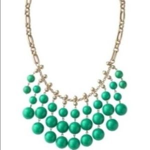Stella and Dot Kelly green Jolie necklace